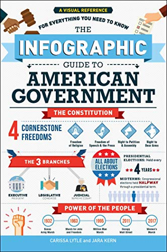 Compare Textbook Prices for The Infographic Guide to American Government: A Visual Reference for Everything You Need to Know Illustrated Edition ISBN 9781507210802 by Lytle, Carissa,Kern, Jara