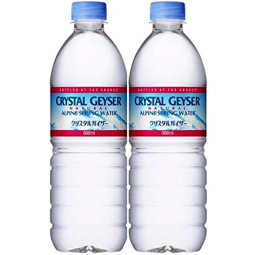 [2cs]大塚食品 Geyser[クリスタルガイザー] 500ml 24本x2ケース [48本][正規輸入品]