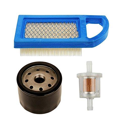 OxoxO 697152 Luftfilter mit 691035 Kraftstofffilter 492932S Ölfilter für Briggs & Stratton Motoren ersetzt 613022 650821 69775 698413