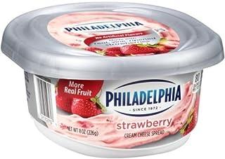 Philadelphia Strawberry Cream Cheese Spread, 8 Ounce -- 12 per case.