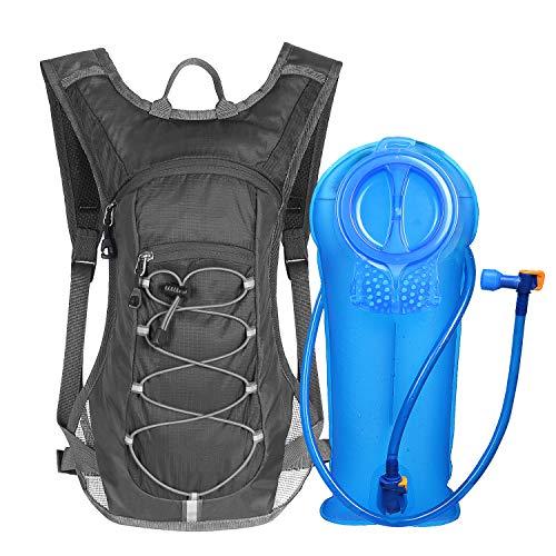Unigear Trinkrucksack mit 2L Trinkblase Hydrationspack Fahrradrucksack für Joggen,...