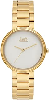 JAG Women's J2091A Year-Round Analog Quartz Yellow Gold Watch