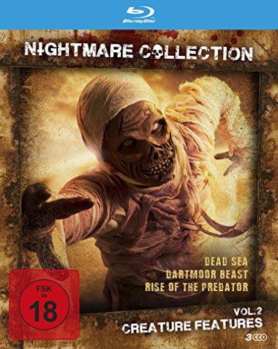 Nightmare Collection Vol. 2 - Creature Features (3 Horrorfilme auf Blu-ray im Sammelschuber)