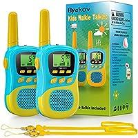 Byakov 22 Channels 2 Way Radio Toy with Backlit LCD Flashlight