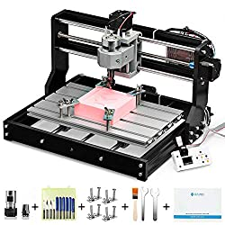 SainSmart CNC 3018-PRO kit for milling / engraving machine, Grbl-based controller (candle), 3 axes for processing acrylic, PVC, wood, soft aluminum, working area 300mm x 180mm x 45mm