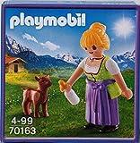 PLAYMOBIL 70163 Chica Granja Milka