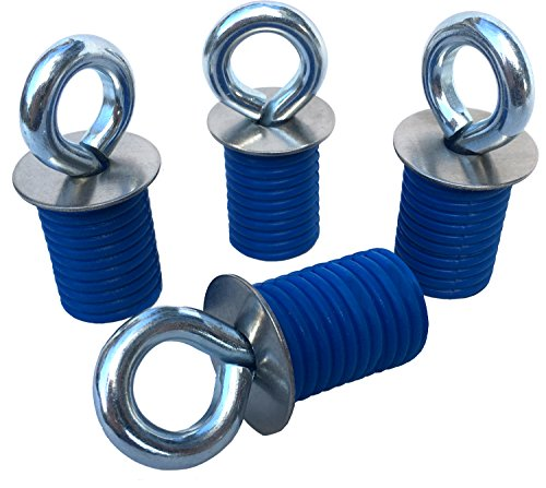 GripPRO ATV Anchors to fit Polaris Lock & Ride ATV Tie Down Anchors Made to fit RZR, Sportsman - Set of 4 - These DO NOT FIT Ranger Models