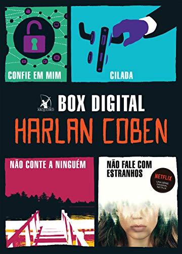 Box Harlan Coben: Confie em mim • Não conte a ninguém • Cilada • Não fale com estranhos