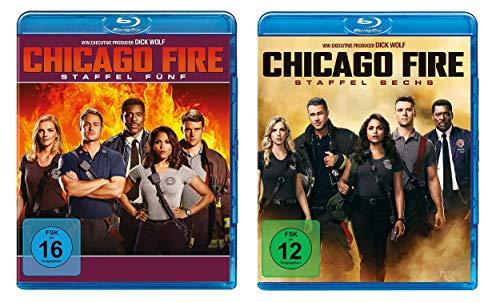 Chicago Fire - Staffel 5+6 [Blu-ray]