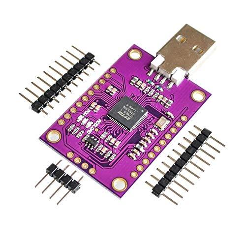 Ballylelly F/ür CJMCU-2232 FT2232 HL USB zu UART FIFO SPI I2C JTAG RS232-Modul FT2232HL N9P6