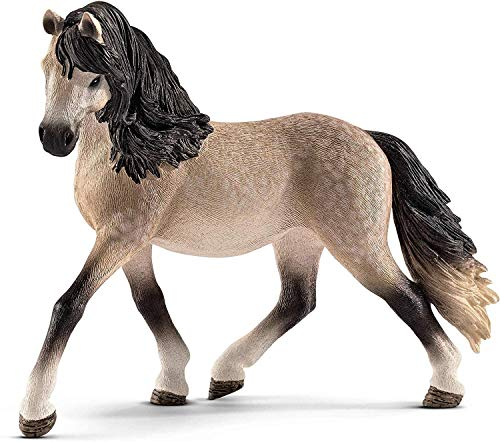 Schleich Horse Club Andalusian Mare Educational Figurine for Kids Ages 5-12