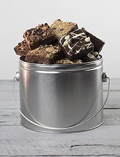 Chocolate Brownie Bucket - Half Gallon Tin Gourmet Gift from Stew Leonard's Gifts