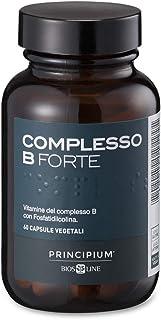 BIOS LINE Principium Complesso B Forte, Integratore energizzante composto dalle vitamine del gruppo b, Integratore compres...