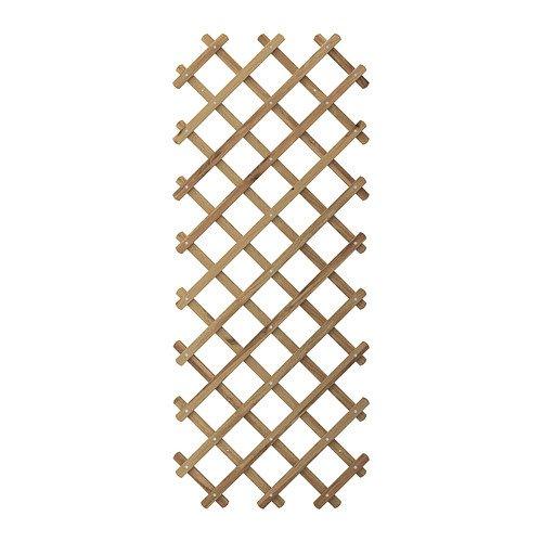 IKEA ASKHOLMEN-Geflecht, grau-braun getönt, grau, braun, 310 x 60 cm x 196 cm