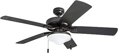 Honeywell Ceiling Fans 50512-01 Belmar Outdoor LED Ceiling Fan, 52-Inch, Dark Bronze
