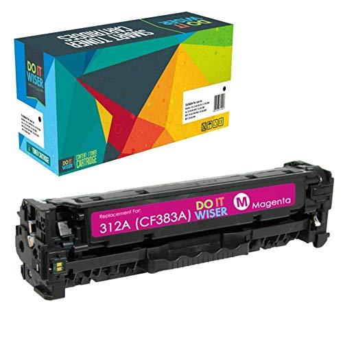 Do it Wiser Compatible Toner Cartridge Replacement for HP 312A 312X CF380X CF380A CF381A CF382A CF383A (Black Cyan Magenta Yellow, 4-Pack) Photo #5