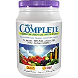 Andrew Lessman Multivitamin - Men's Complete with Maximum Essential Omega-3 1000 mg 60 Packets – 30+ High Potencies of All Nutrients, Essential Vitamins, Minerals & Carotenoids. No Additives