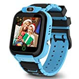 Smart Watch for Kids Boys Girls, Age 3-10 Children(3 colors) with Video Recorder & Player, Music MP3 Player,Games,Camera Stopwatch Timer - Kids Smart Watch - Christmas and New Year Gifts (blue)