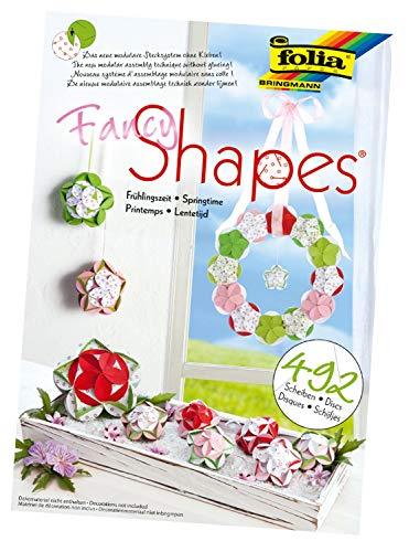 folia 25009 - Fancy - Shapes - Set Frühlingszeit - ideal als Dekoration in Bodenvasen, Dekoschalen oder als Kranz