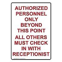 垂直認可された人員は金属標識通知標識に署名するだけです