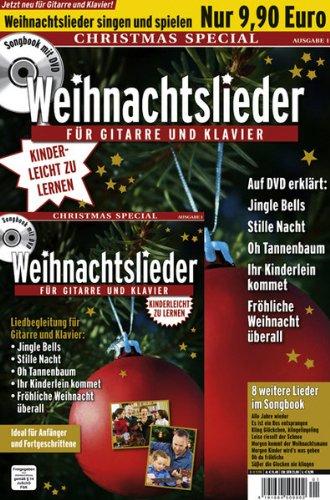 Weihnachtslieder für Gitarre und Klavier - Christmas Special (+ Begleitheft)