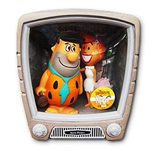 FRED + WILMA Los Picapiedra TV set con 2 figuras PVC appr 15cm de Funko