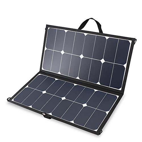 Renogy Solar 50W Eclipse Lightweight Suitcase with 10A Controller, Panel-10A PWM