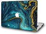 Liquid Sand - Carcasa rígida para MacBook Air de 13 pulgadas, 2020 2019 2018, versión A2337 M1 A2179 A1932 con retina mate piel artículo RQTX - Cyan Create