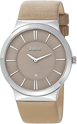 Esprit Collection Damen-Armbanduhr Cleodora Pure Analog Quarz Leder EL101532F03