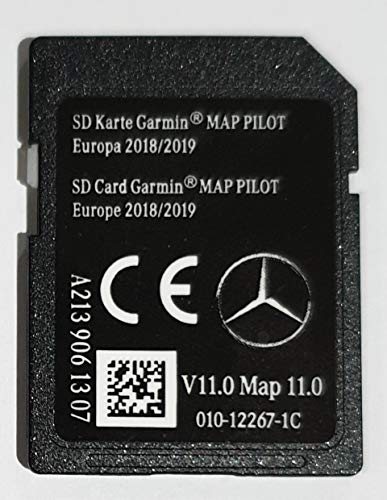 SD-kaart Mercedes Garmin MAP Pilot Europe 2018-2019 - STAR2 - A2139061307