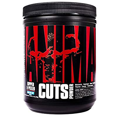 Animal Cuts All-in-one Complete Fat Burner Supplement with Thermogenic and Metabolism Support
