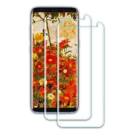 Panzerglas Schutzfolie kompatibel mit Galaxy S9, (2 Stück) 3D Vollständige Abdeckung HD Panzerglasfolie, [Bläschenfrei] [9H Härte] Displayschutzfolie für S9
