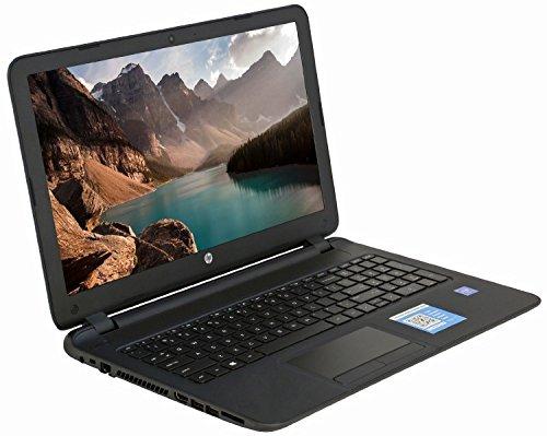 HP computadora portátil con pantalla táctil de 15,6 pulgadas (procesador AMD Quad-Core A8-7410 2.2GHz hasta 2,5 GHz, 4 GB de RAM, disco duro de 500 GB, unidad de...