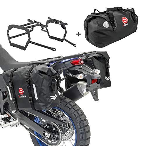 Bolsas Laterales/Trasera Set WP8 para KTM 790 Adventure/R 19-20 + Portamaletas