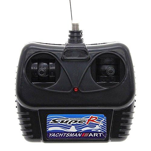 Plastique mini télécommande contrôle jouet électrique Bateau modèle