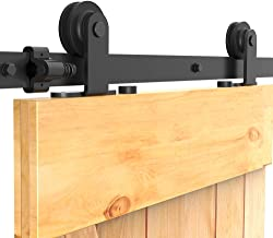 CCJH Schuifdeursysteem Schuifdeurbeslag Schuifdeur Systeem Loftdeur Looprail Schuifdeur Set, Complete set met Hangrollen -...