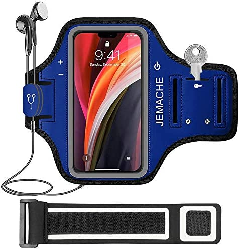 iPhone 12 Mini Armband JEMACHE Water Resistant Gym Workouts Running Arm Band Case for iPhone product image