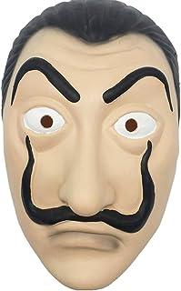 comprar comparacion MIMINUO Máscara de látex Máscara Facial Máscara de la Cara de Apoyo Realista Novedad Cosplay Máscara de Fiesta de Disfraces