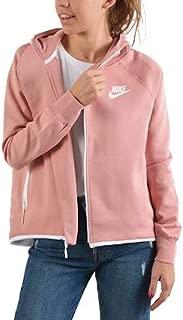 Nike Sportswear Tech Fleece Women's Full-Zip Cape Hoodie Jacket Rustic Pink Size Medium 930757-685