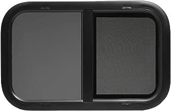 ToughGrade Horizontal Sliding Black RV Window 24