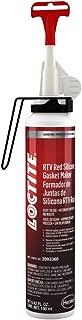 Loctite 2093360 1 Pack 596 RTV Silicone - Sensor-Safe/Hi-Temp (Red, 190 ml)