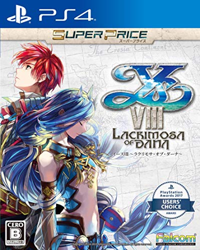 Falcom Ys VIII Lacrimosa of DANA SONY PS4 PLAYSTATION 4 JAPANESE VERSION [video game]