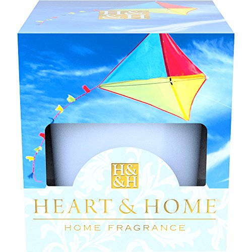 Heart & Home Votiv Bougie parfumée Bleu ciel 53 g