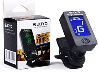 JOYO Guitar Tuner - Digital Electronic Tuner Acoustics and LCD Display for Guitar Bass Violin Mandolin Banjo Ukulele High Precision Calibration Tuner