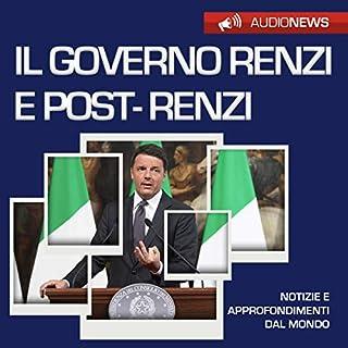 Il governo Renzi e post-Renzi copertina