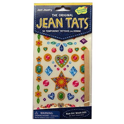 L'original Jean / Denim / Tissu Tatouages - Bijoux - par Peaceable Kingdom