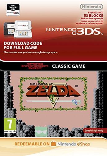 Legend of Zelda NES [3DS Download Code]