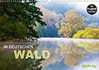 Im Deutschen Wald 2022 - ein Notizkalender (Wandkalender 2022 DIN A3 quer): Sehnsuchtslandschaften zum Traeumen und Entfliehen (Geburtstagskalender, 14 Seiten )