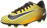 Nike Jr Mercurial Vortex III FG, Botas de fútbol Unisex niños, Naranja (Laser...