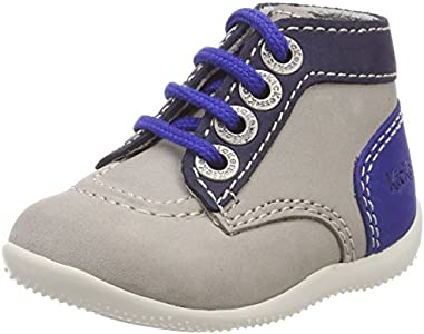 Kickers Botas clásicas Bonbon para Chico, Color Multicolor, Talla 19 EU